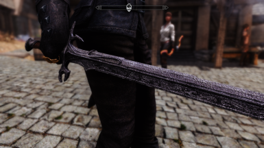 Nord Hero Sword close up