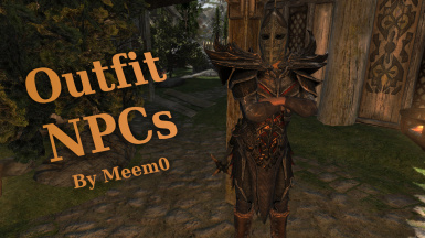 Outfit NPCs (Inventory-Equipment) SE