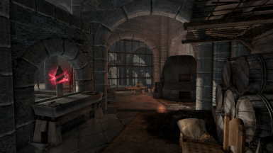 Practice room- Smithing area