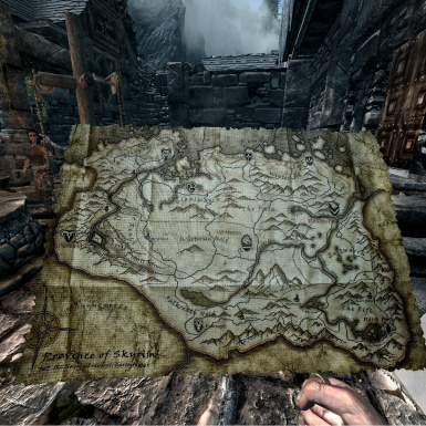 Used with HQ Skyrim map V2