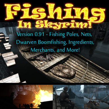 Fishing in Skyrim VR