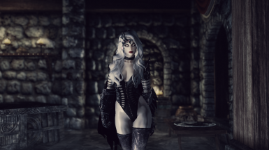 Lady Arkay - standalone follower at Skyrim Special Edition