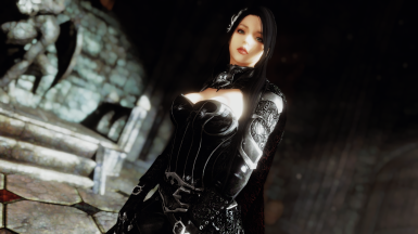 Lustmord Vampire Armor - SSE CBBE BodySlide (with Physics)