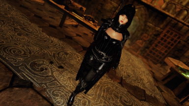 Lustmord Vampire Armor - SSE CBBE BodySlide (with Physics