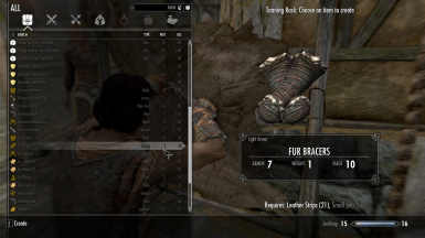 Skyrim Crafting Recipes