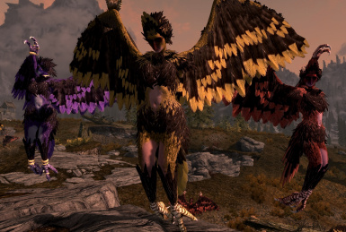Repopulate Skyrim with Harpies SE