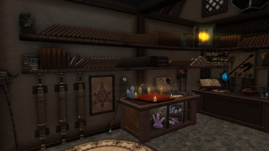 ENCHANTING AND STAVES CRAFTING TABLES