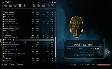 uoWarmonger Armory SSE and Improved Dragon Priest Masks SE Patch