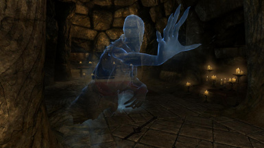 Classic Ghosts - Mihail Monsters and Animals (SSE)(mihail immersive add-ons- oblivion- undead)