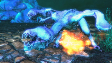 Dracolizards- Mihail Monsters and Animals (SSE)(mihail immersive add-ons- witcher wyvern- dragon)