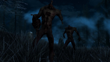 Zombies- Mihail Monsters and Animals (SSE)(mihail immersive add-ons- undead- oblivion)
