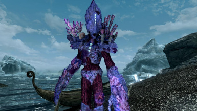 Coral Atronachs- Mihail Monsters and Animals (SSE) (mihail immersive add-ons- golem- nereid)