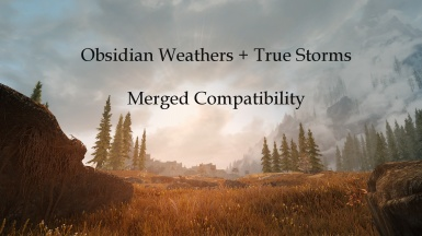 Obsidian Weathers - TrueStorms Merged Compatibility SSE