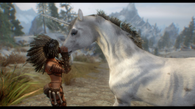 Hashire - A Truly Unique Horse at Skyrim Special Edition