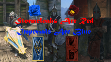 Stormcloaks Are Red Imperials Are Blue