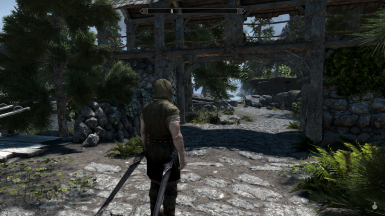 Ebony Rapier, Belt Ring is on wrong side. Would need to be remodeled to fix