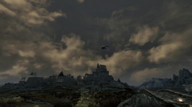 Wet Whiterun at dusk