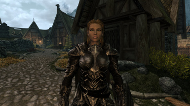 Female armor fixed