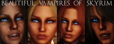 Metalsabers Beautiful Vampires of Skyrim