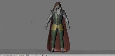 WIP - Prince armour 22nd October - Cape hood and wig