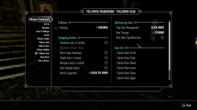 Nether's Follower Framework at Skyrim Special Edition Nexus