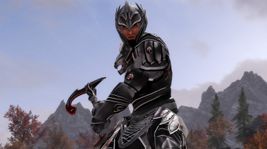Blood and Silver Elven Armor and Weapons 2K - Mystic Elven Recolor