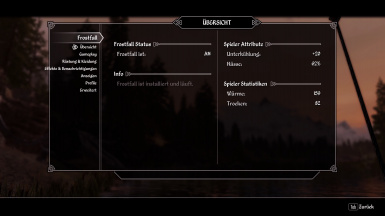 Campfire and Frostfall - Unofficial SSE Update - German MCM