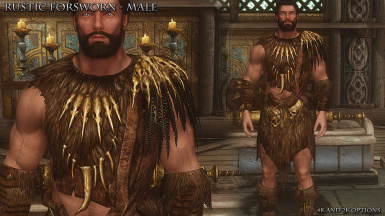 Rustic Forsworn Male Front