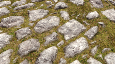 'really' blended roads 3d meshes
