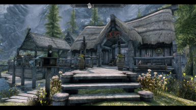 Buyable Home Patch for Leaf Rest SSE