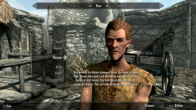 Skyrim SE - Character Creation Example