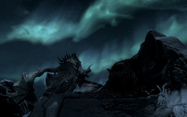 Paarthurnax at Night