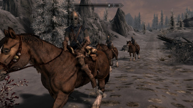Stormcloak mounted patrol