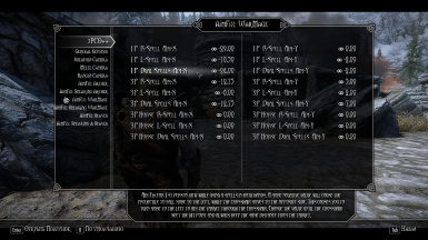 MCM Settings for WarMage