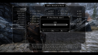 MCM Settings for Staves