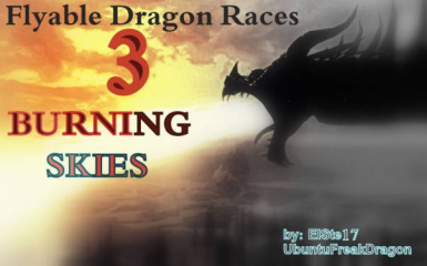 Burning Skies SSE (become a dragon)