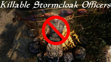 Unessential_Killable Stormcloak Camp Officers