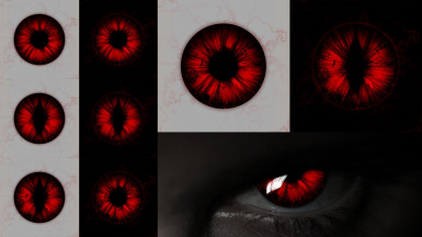 Ruby Red Vampire Eyes - SSE - 4K-2K-1K