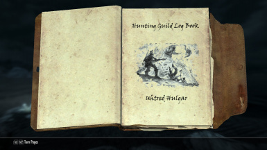 Hunting Log Book