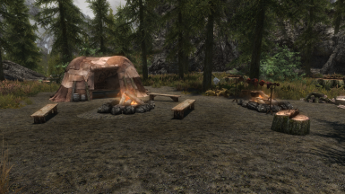 Campsites in Skyrim SSE