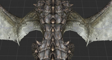 Vanilla wing base is rather thin.
