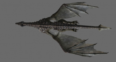 Vanilla top wing and Immersive Dragons Bottom wing!
