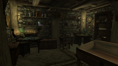 Breezehome Basement (Crafting and Storage)