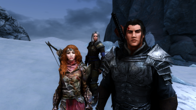 Auri, Celia and Kaidan.