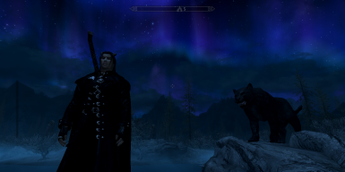 Kaidan and Loki the panther