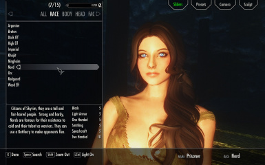 RaceMenu at Skyrim Special Edition Nexus - Mods and Community
