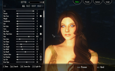 Racemenu at skyrim special edition nexus mods and community racemenu maxwellsz