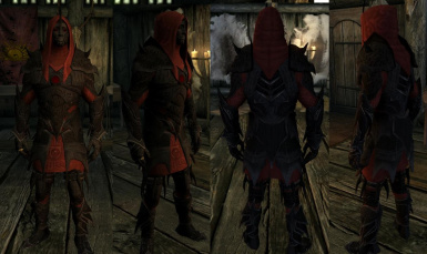 Bound Mythic Dawn Armor- Mihail Armors and Clothes (SSE)(mihail immersive add-ons- oblivion- daedric)