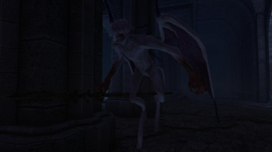 Batwing Demons -Mihail Monsters and Animals (SSE)(mihail immersive add-ons - daedra- dark souls)