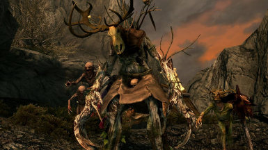 Leshens and Nekkers - Mihail Monsters and Animals (SSE)(mihail immersive add-ons -witcher wild hunt- hircine)